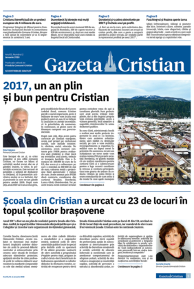 Gazeta Cristian nr. 2, ianuarie 2018