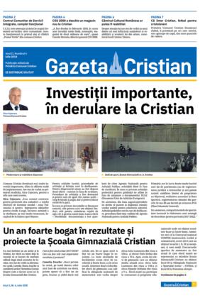Gazeta Cristian nr. 4, iulie 2018