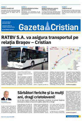 Gazeta Cristian nr. 6, decembrie 2018
